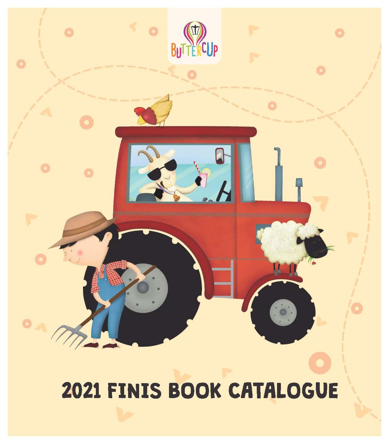 2021 Buttercup Finish Book Catalogue